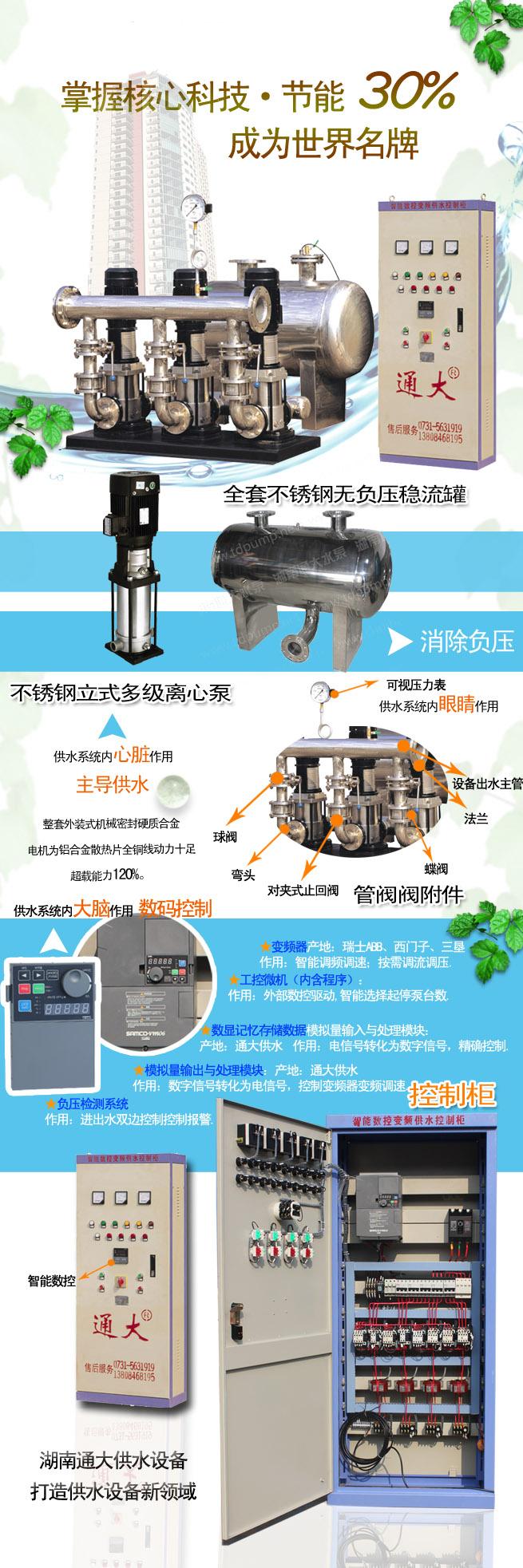 智能数控变频供水设备